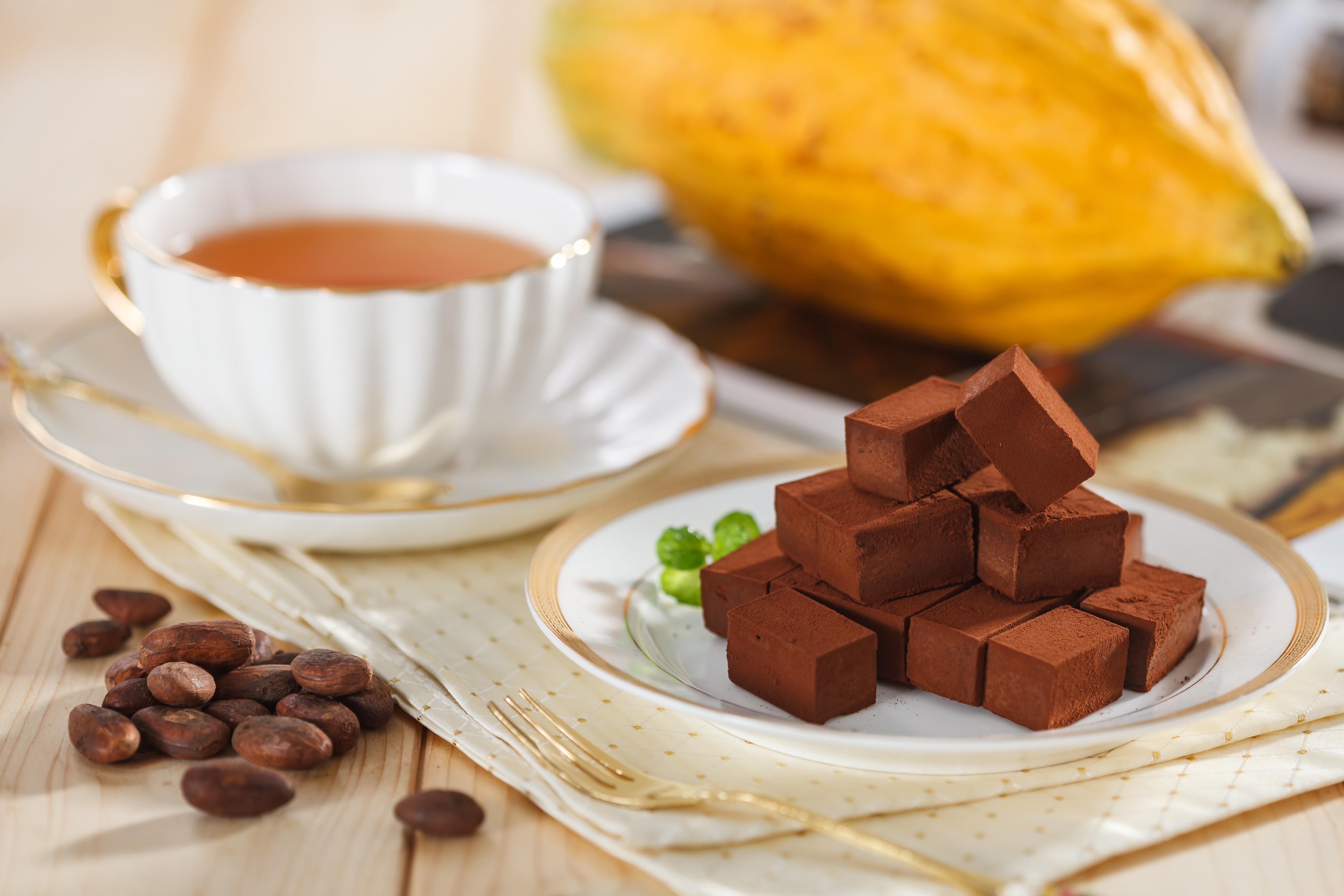 八周年特惠專案: 生巧克力 買十送二
